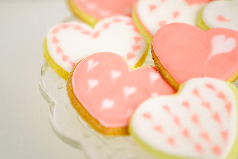Valentinstag - Kekse